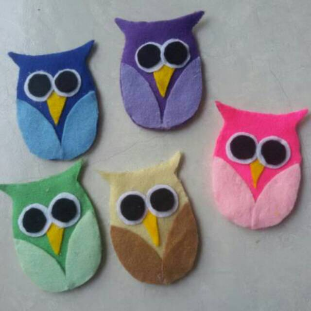 Amplop Lebaran Flanel Burung Hantu Owl Shopee Indonesia