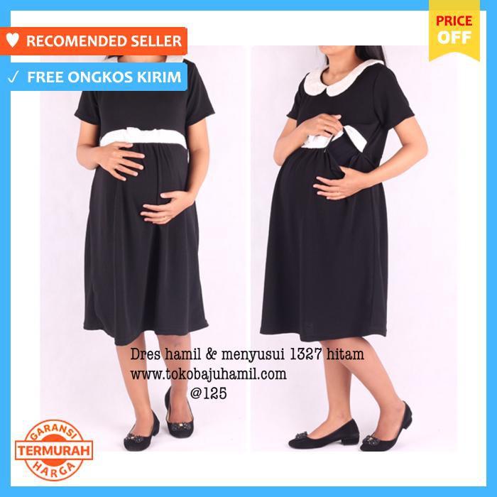 Dress Hamil - Menyusui Overall Jeans Balon - Baju Hamil | Shopee Indonesia