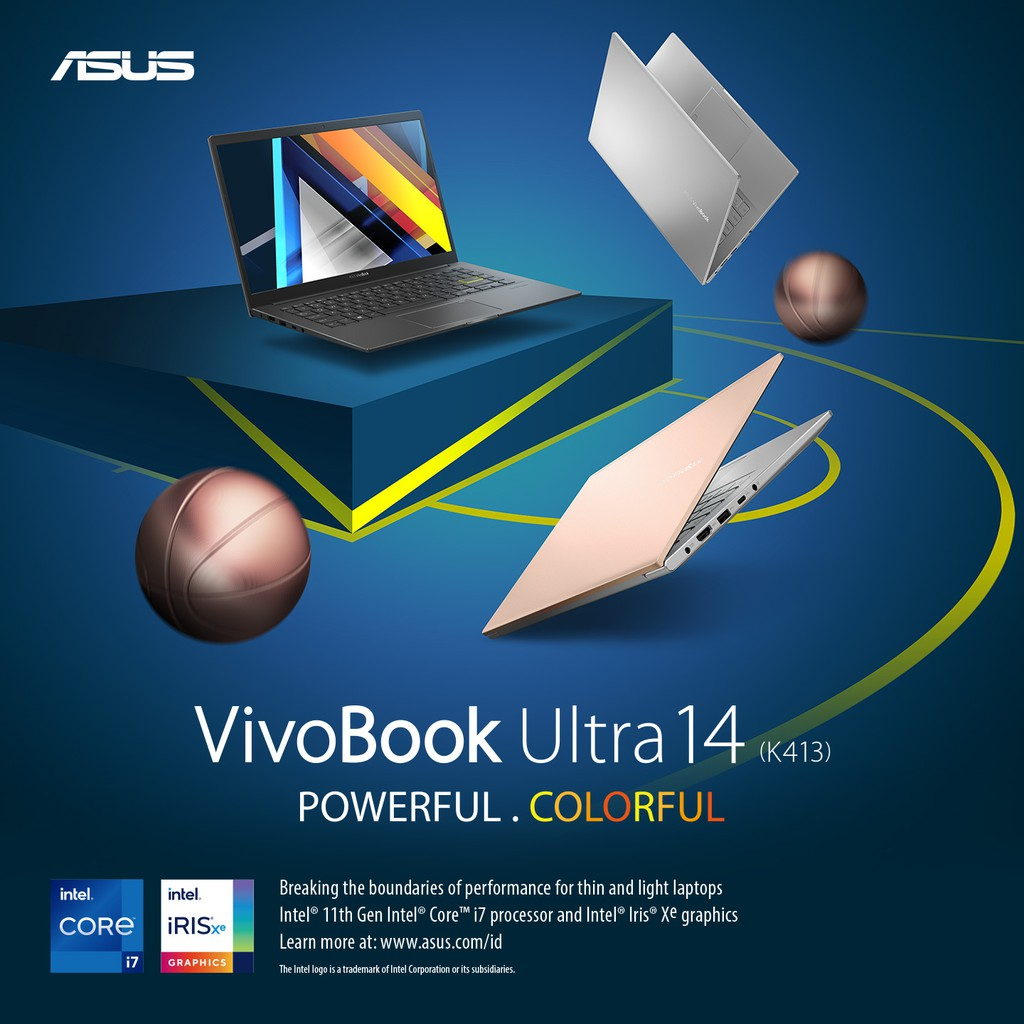 ASUS VivoBook Ultra 14 K413EA - AM551/3IPS