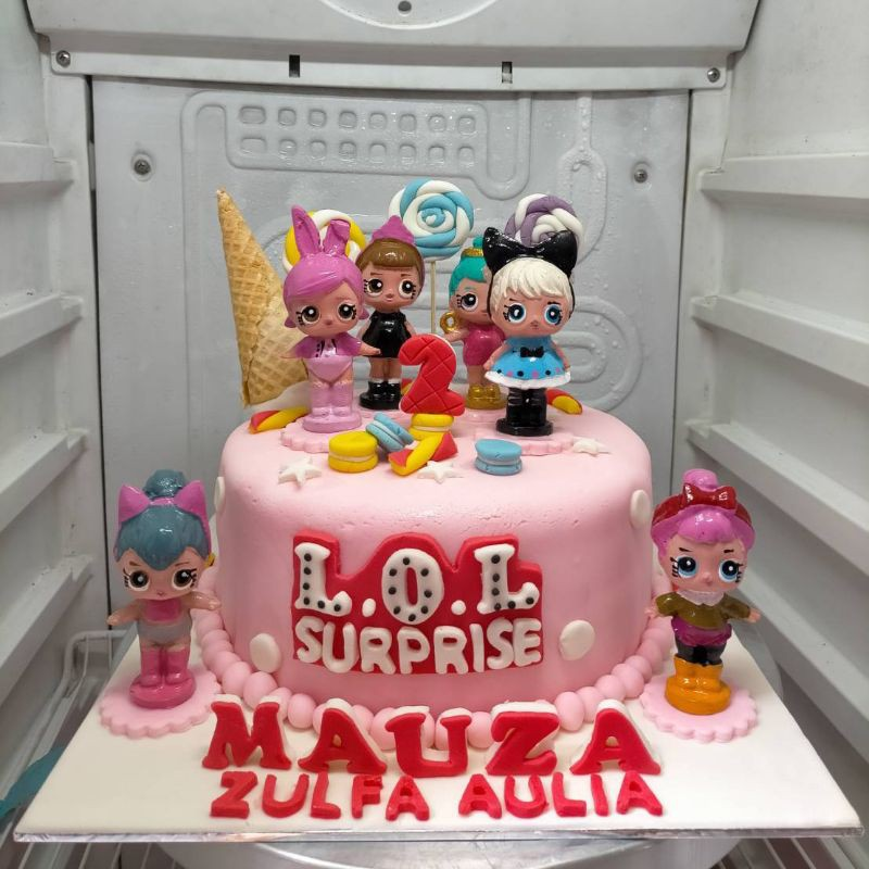 kue ulang tahun lol fondan