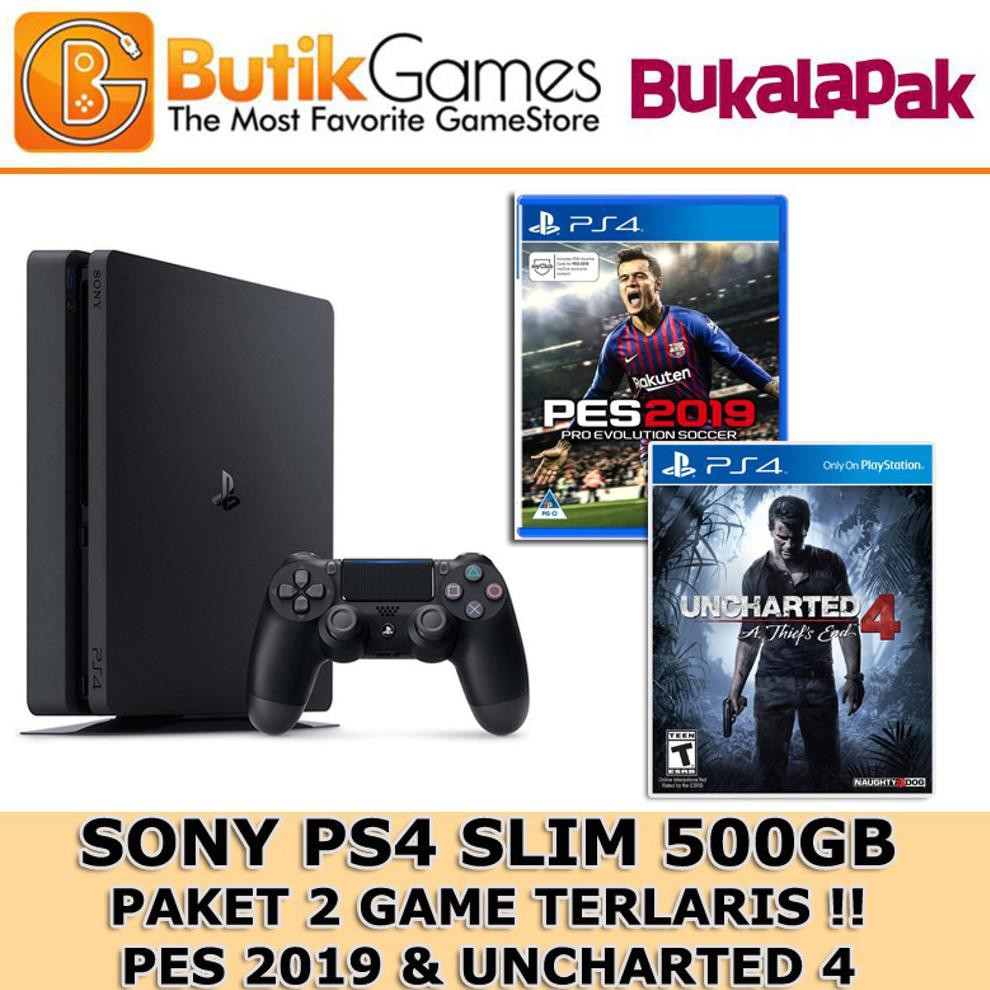 Ps4 Slim Console 500gb 1 Game Pilihan Garansi Sony Resmi Indonesia Murah | Shopee Indonesia