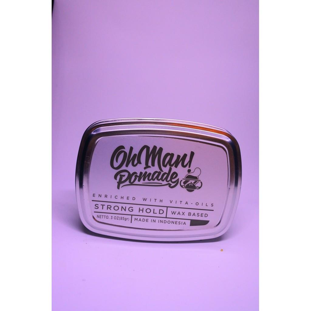 Ohman Pomade Mystic Grey Shopee Indonesia Oh Man Nutri Green Divine Wax Based Oilbased Oil Free Sisir Unbreakable