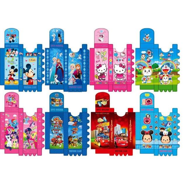 Kotak pensil rakit karakter / tempat pensil / pencil case karakter TEBAL souvenir ulang tahun | Shopee Indonesia