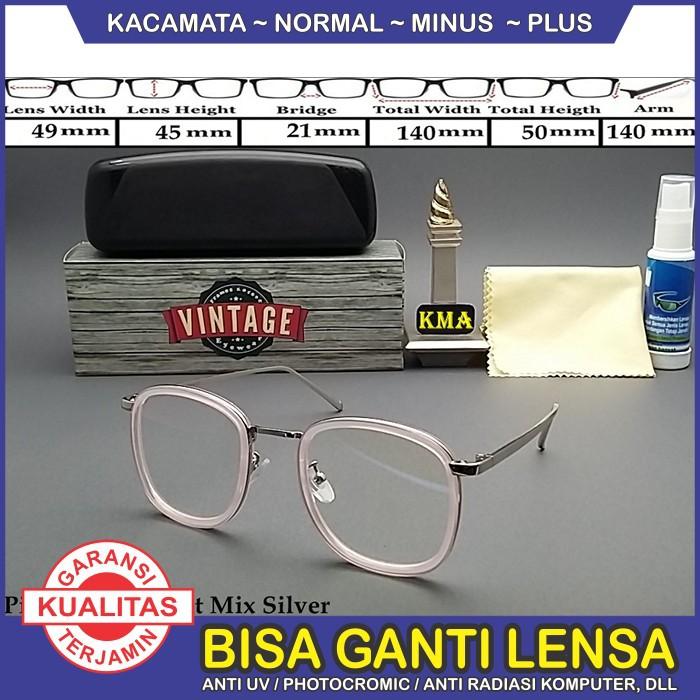 Promo Frame Kacamata Minus Vintage Kacamata Anissa Sabyan Kacamata Sabyan  65fcc291ea