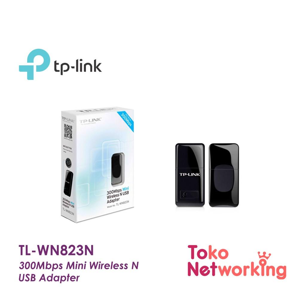 Tp Link Tl Wn823n 300mbps Mini Wireless N Usb Adapter 823 823n Wn Wn823 Shopee Indonesia