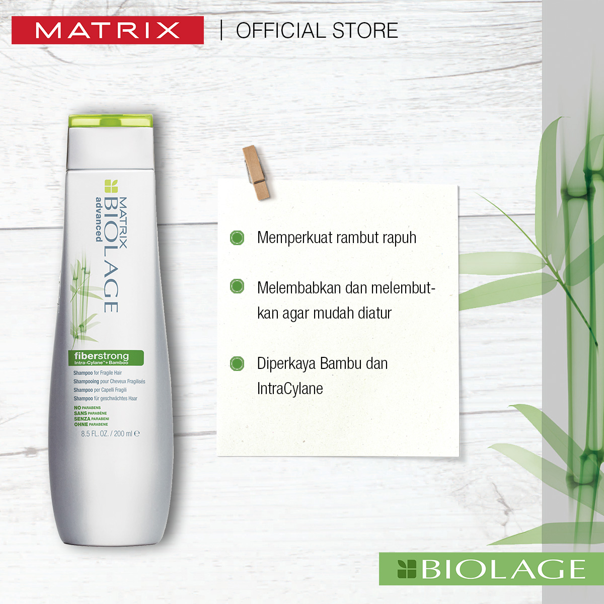 Matrix Biolage Fiberstrong Shampoo 200ml-2