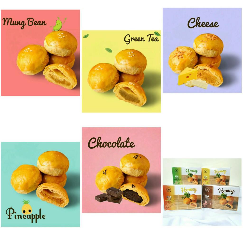 Bakpia Coklat Chocolate Pie By Balong Solo Shopee Indonesia Kurnia Sari Isi 20