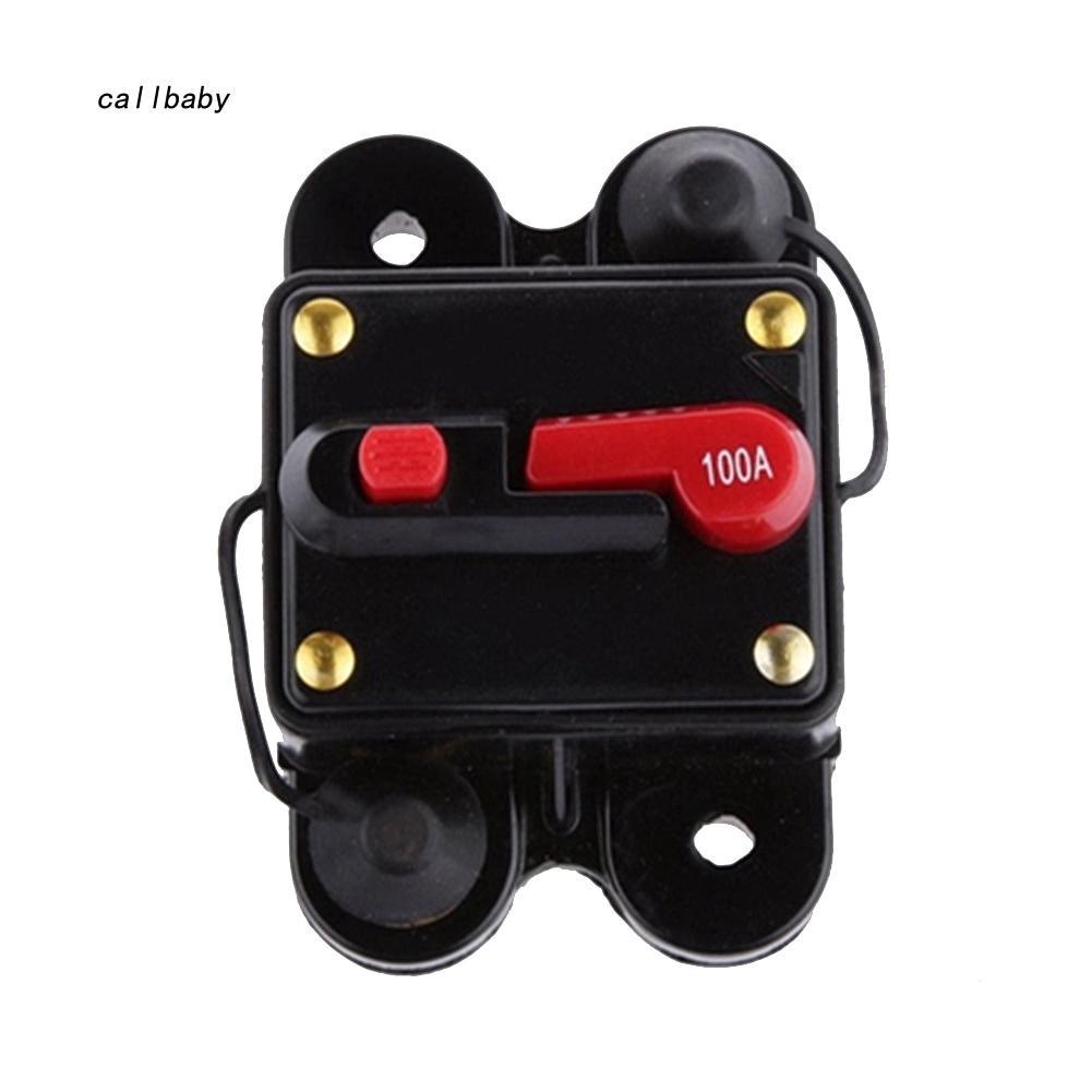 12V Car Circuit Breaker Stereo Audio Amplifier Inline Replace AGU Fuse 50-300A