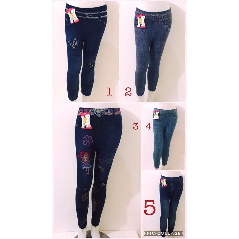 Promo Celana Jeans Legging Anak Import Celana Legging Anak Cewe Jeans Murah Kualitas Bagus Shopee Indonesia