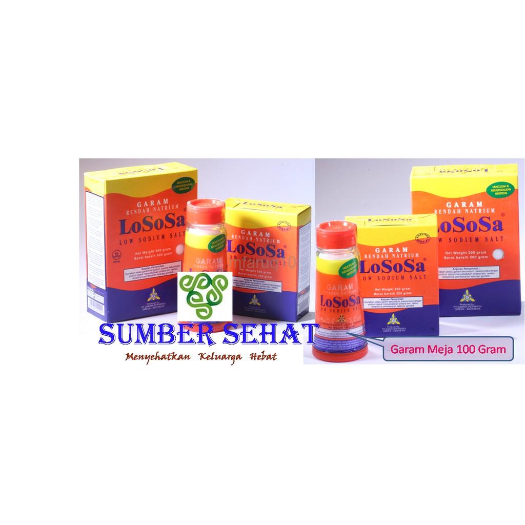 Garam Lososa Rendah Natrium 500 Gram 2 Pcs Update Daftar Harga Nutrisalin Diet 400 Gr Diskon Hemat 40 Darah Tinggi Refill Fw2532 Shopee