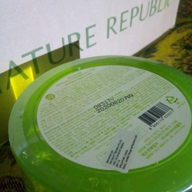 The Saem Aloe Vera Gel Lidah Buaya Soothing Gel Jeju Fresh Aloe 99 Percent | Shopee