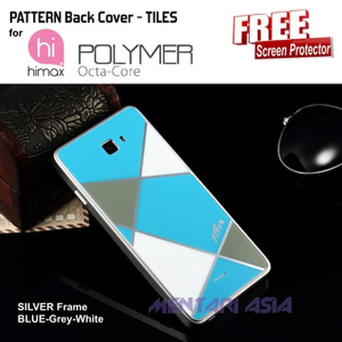 Cuci Gudang Hardcase HIMAX Polymer Octa Core : Acrylic TILES Back Cover | Shopee Indonesia