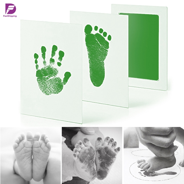 Acid Free PINK BABY SAFE NON TOXIC INK PAD Handprint Foot Finger Print