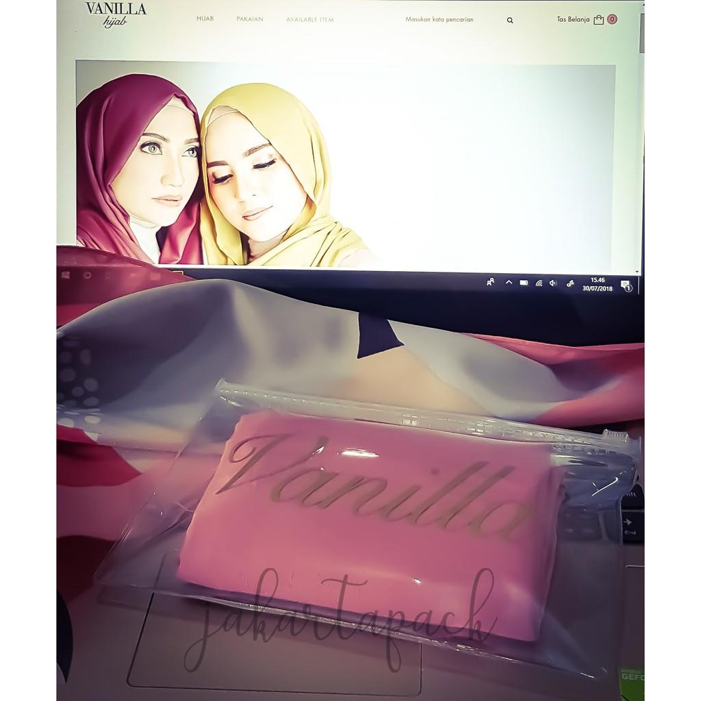 PB11 - 11 PCS - Plastik Zip - Ziplock - zipper - Pouch - Dompet transparan  kemasan hijab scarf