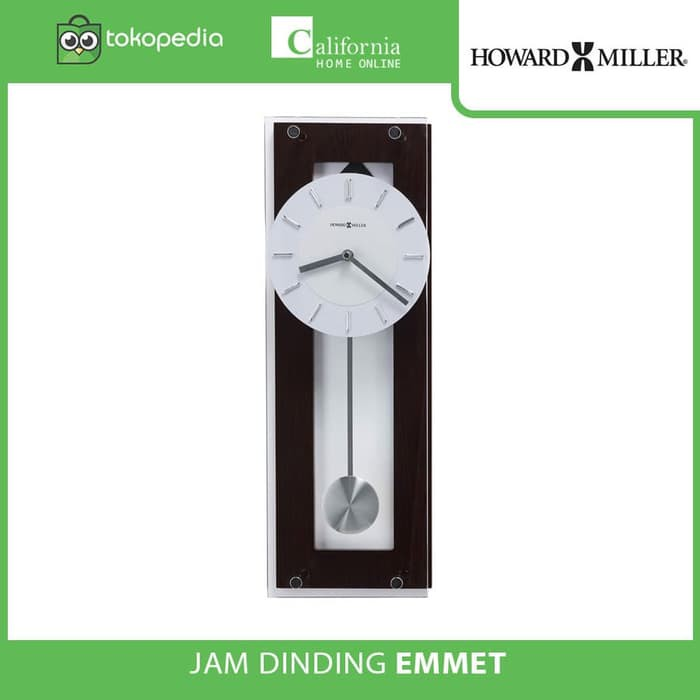 READY STOCK JAM DINDING WELLINGTON 019 - WELLINGTON WOOD CLOCK 602.395R  09bc55768d