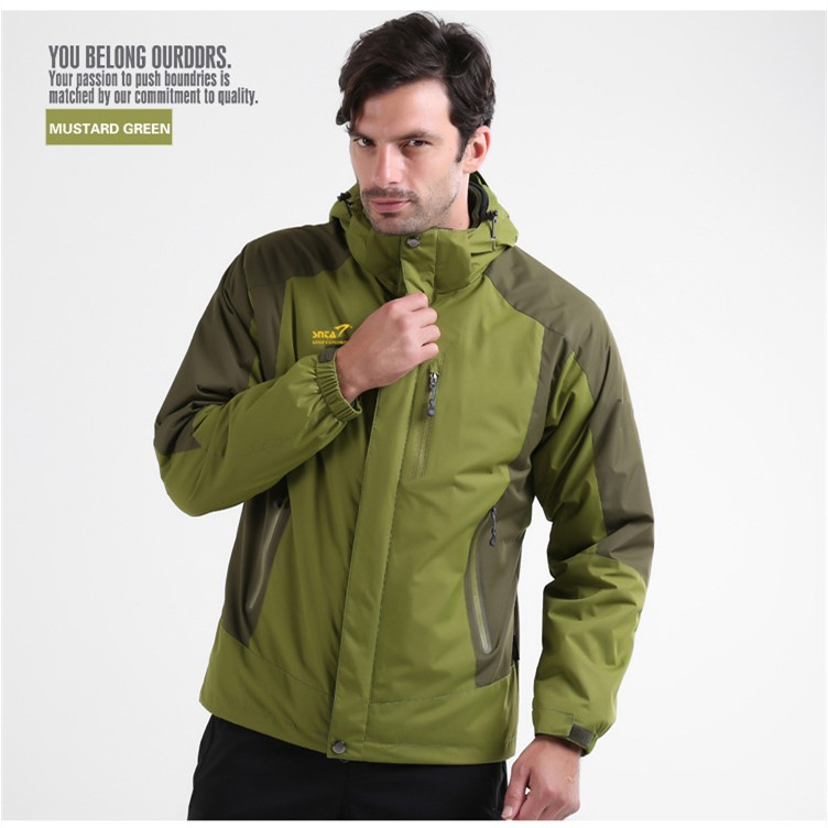 Snta Mens Jaket Hiking Outdoor Waterproof & Windproof 8802 Biru Source · Jaket Outdoor Hiking SNTA 8801 Waterproof And Windproof Green Shopee Indonesia
