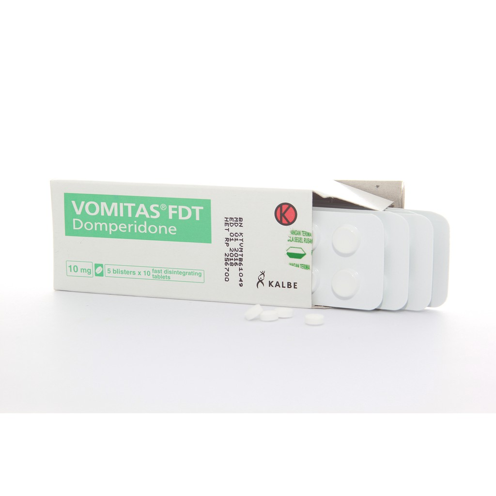 Vomitas Fdt Tablet Box Strip Shopee Indonesia