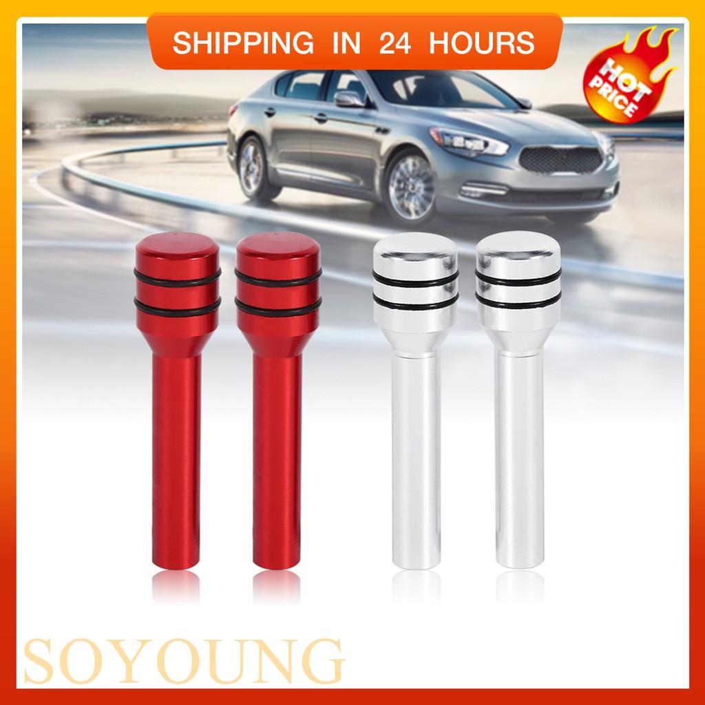 Bayar Di Tempat 2pcs Knob Kunci Pintu Mobil Universal Bahan Aluminium Shopee Indonesia