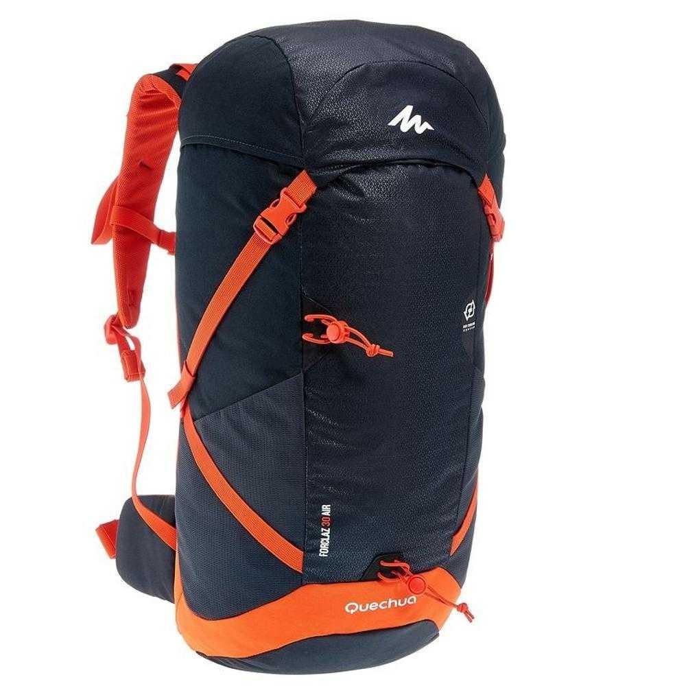 Tas Carrier Quechua Forclaz 40l Original 40 Litre Backpack Ransel Anak Arpenaz 7l For Kids Red Black Shopee Indonesia