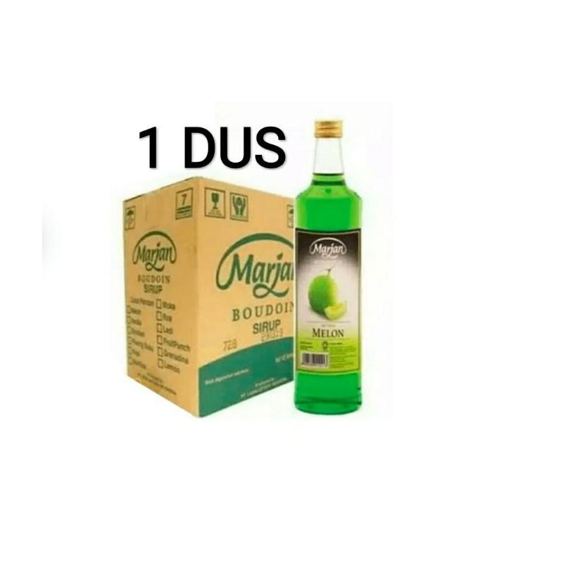 Sirup Marjan Murah 460Ml Melon Dan Cocopandan 1 Dus 12 Botol