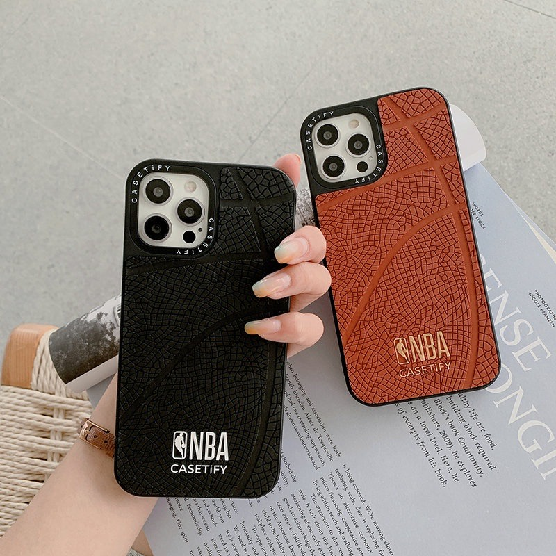 CASETiFY NBA Basketball Dupe Case (iPhone 12/12Pro/Max/7/8/7+/8+/X/XS/XS Max/11/11 Pro/11 ProMax)