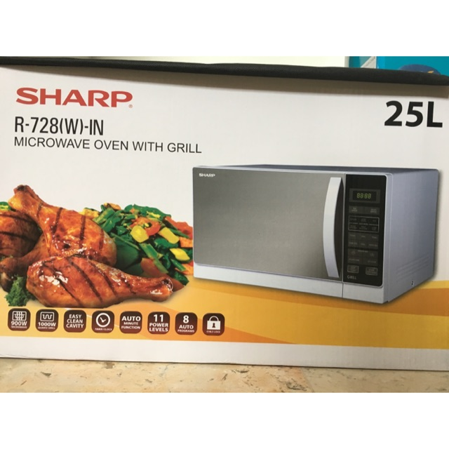 ProductImage. Habis. Microwave Sharp R-728(W) 25L