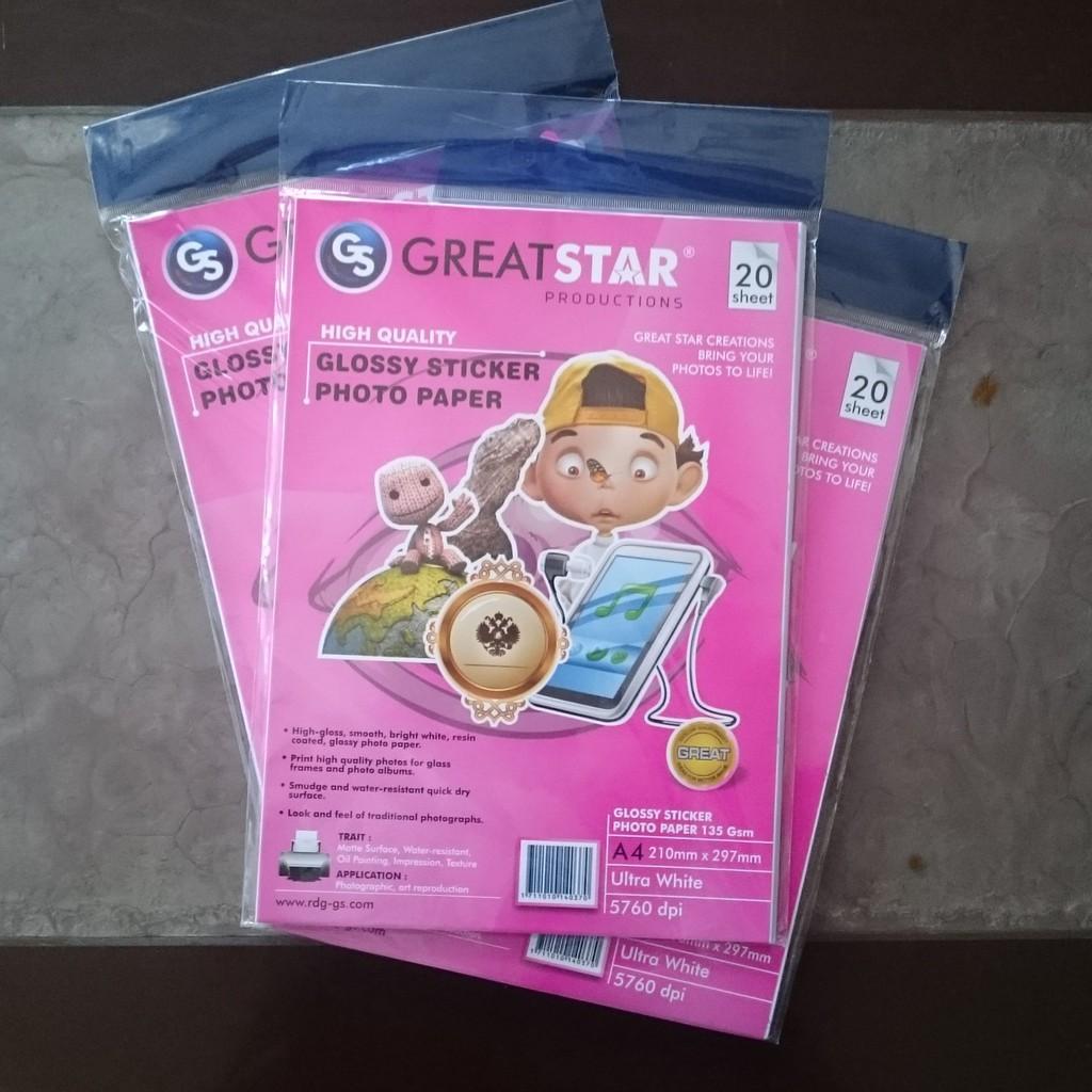 Tempat Jual Kertas Foto E Print Sticker Matte Paper 135 Gsm Termurah Greenlight Tshirt 259051812br Dataprint Dp Sgp Glossy A4 Daftar Harga