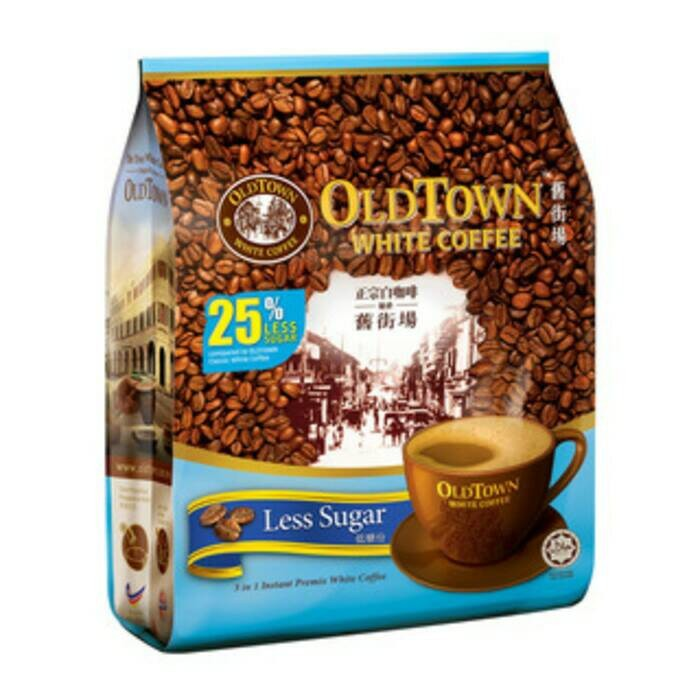 Old Town White Coffee Less Sugar Old Town Kurang Gula 15s ...