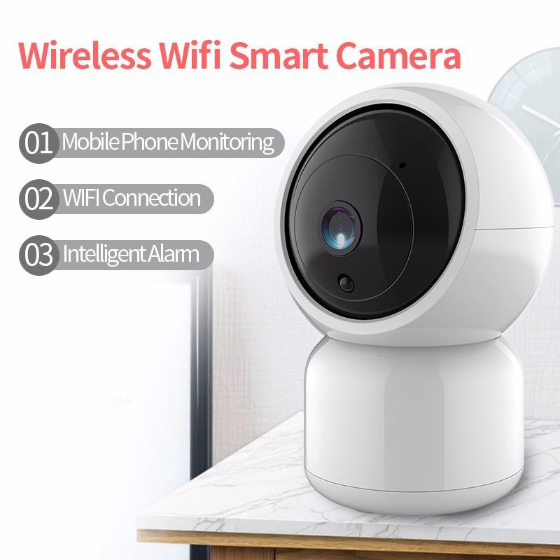 Wireless WIFI IP Camera HD 720P Smart Home Security Camera Night Vision Monitor
