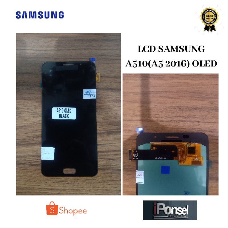 LCD TOUCHSCREEN SAMSUNG A510 -A5 2016- OLED