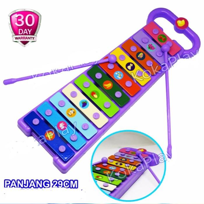 [Bayar di Tempat]Mainan Edukasi Musik Xylophone 8 Nada untuk Bayi dan Anak- Anak | Shopee Indonesia