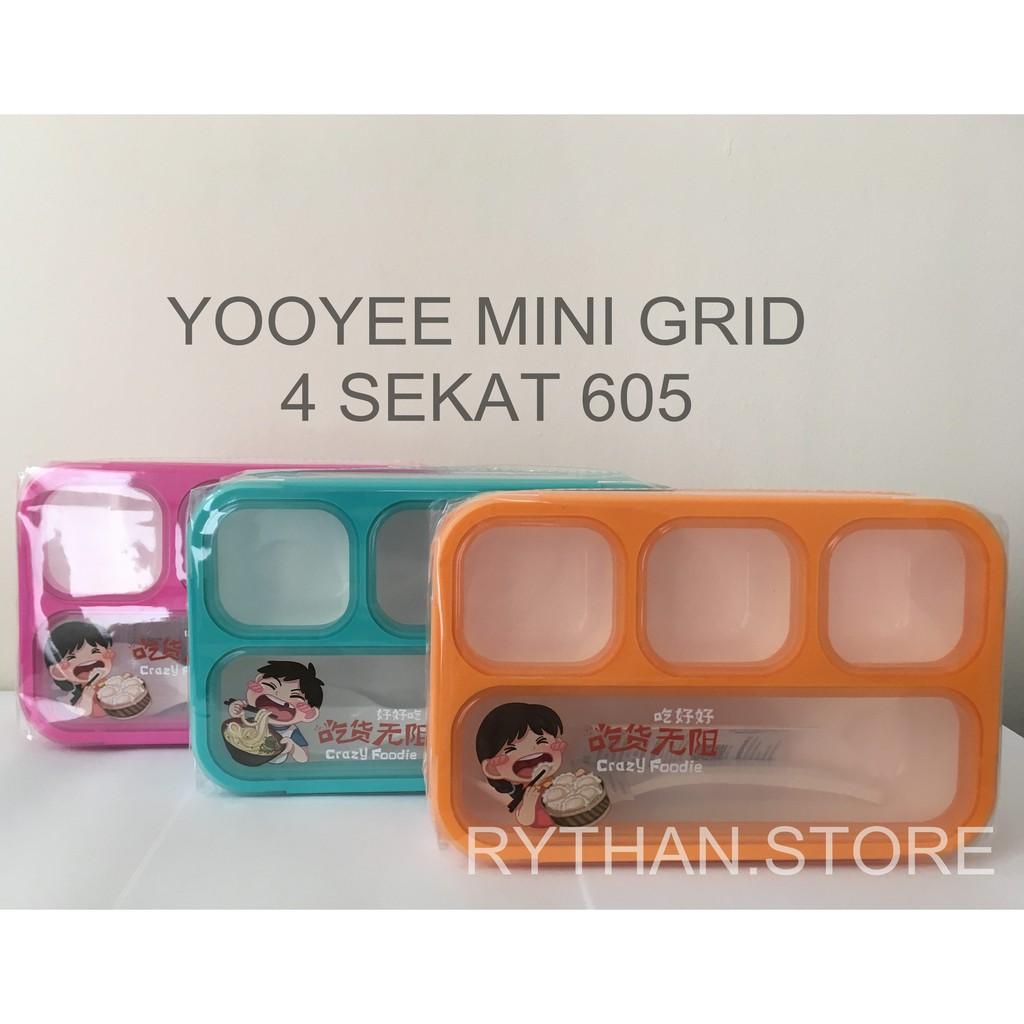 Item 605 606 Yooyee Kotak Makan Mini Anti Tumpah Shopee Indonesia Leakproof Lunch Box 578 Bocor Tosca