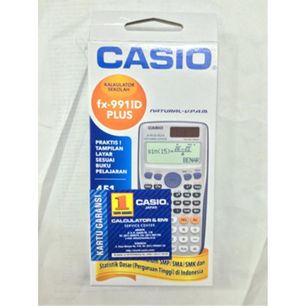 Jual Kalkulator Scientific Casio Fx 991id Plus Berkualitas Shopee 991 Id Ilmiah Indonesia