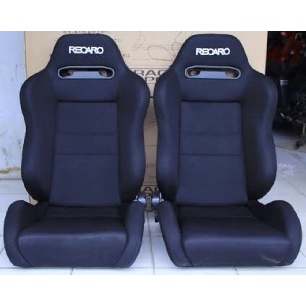 Recaro Racing Car Seat >> Jual Jok Racing Recaro Sr Black