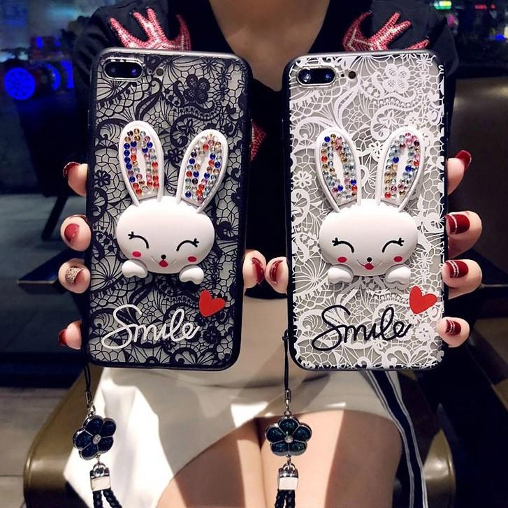 Case Samsung Galaxy J7 J5 J2 Prime J7 J6 J4 Plus M20 M10 Renda Kelinci Dudukan