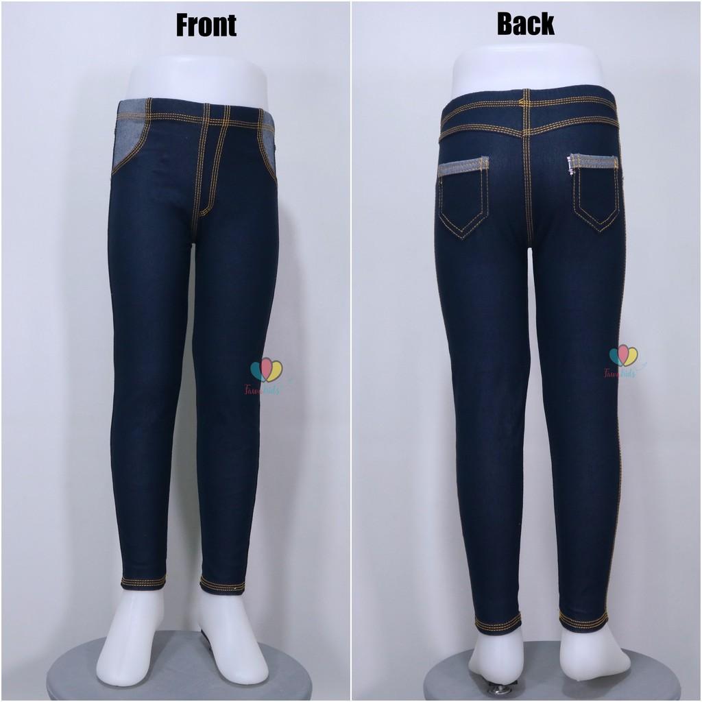 Jeans Legging Kantong Uk Anak Tanggung Abg Remaja Laki Perempuan Celana Panjang Anak Polos Denim Shopee Indonesia
