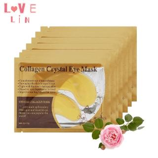 Lovelin 1PCS Gold collagen crystal eye mask to dilute fine lines and moisturize 2