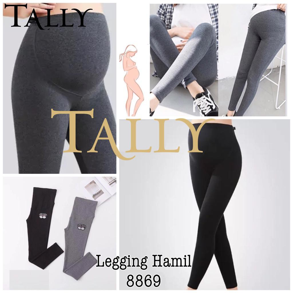 Celana Legging Hamil Panjang Premium Maternity Tally 8869 Shopee Indonesia