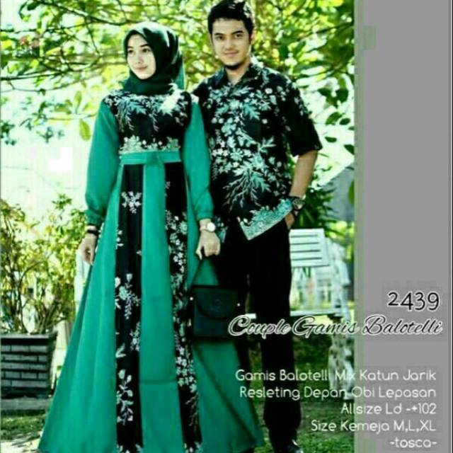 Couple gamis balotelli gold ...