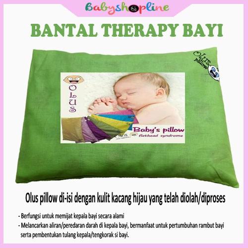 Bantal Bayi Olus Biru, Bantal Anti Peyang, Bantal Bayi Therapy, Bantal Bayi Kacang Hijau | Shopee Indonesia