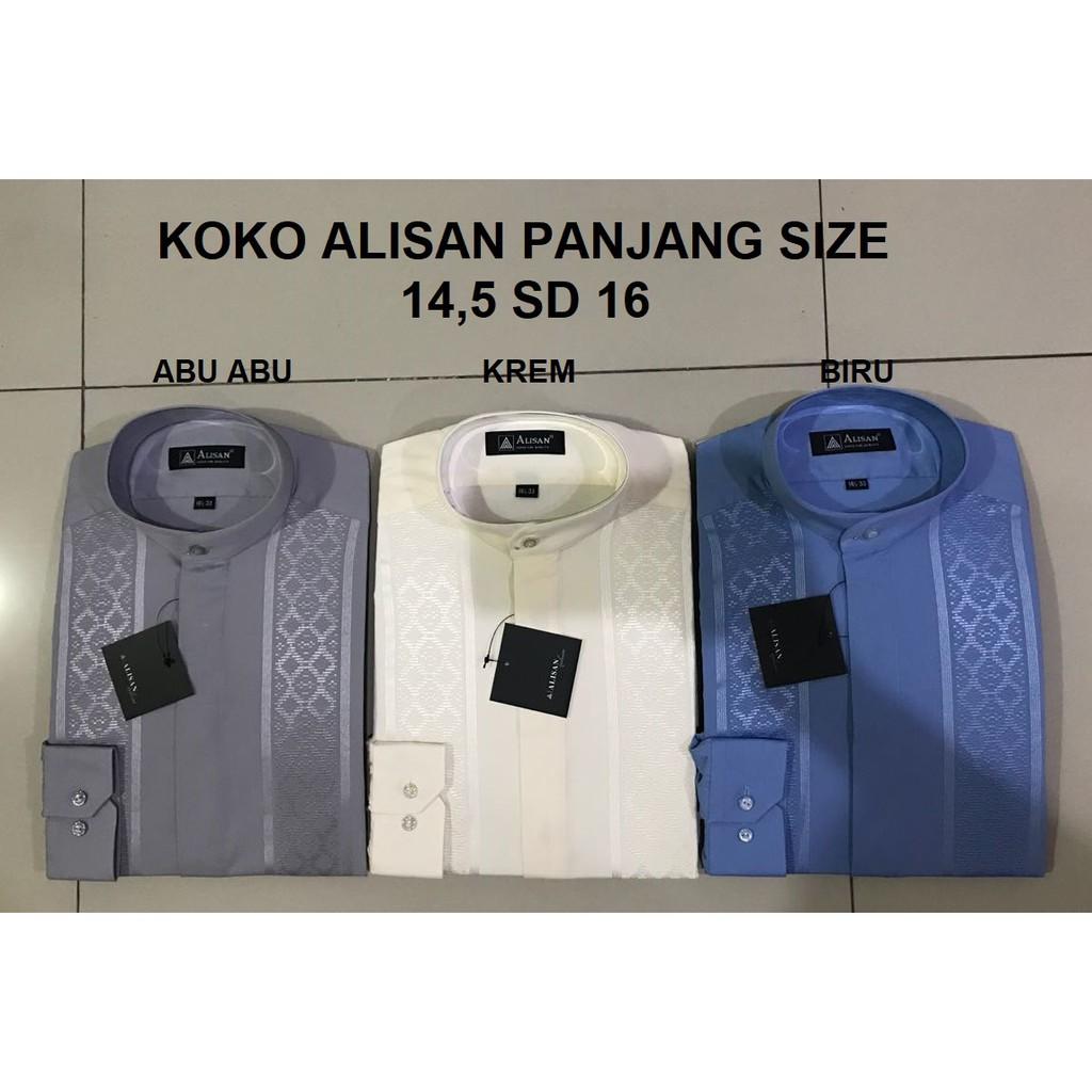 Alisan Baju Koko Lengan Panjang Regular 2018 Shopee Indonesia Modern 14