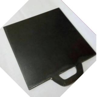 Wajan persegi plat roti bakar ukuran 40 x40 cm pelat