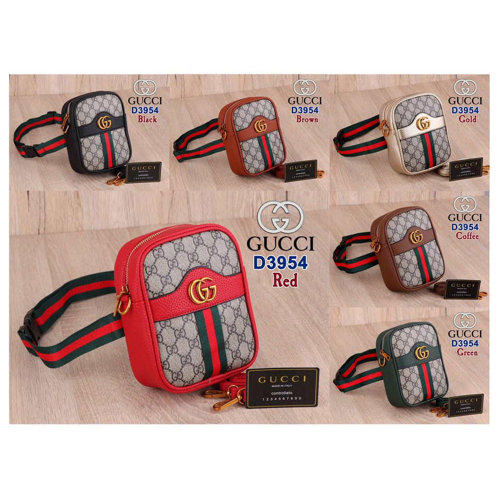 Gucci Tas Pinggang GG Love Gc-915  c87144c509