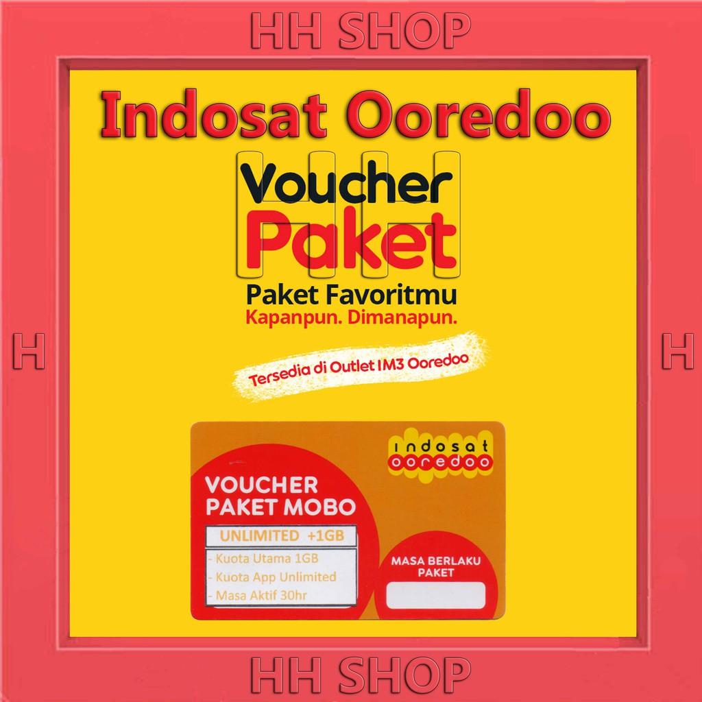 Voucher Indosat Paket Data Im3 Unlimited Kuota 1gb 2gb 3gb 7gb 10gb 15gb Shopee Indonesia