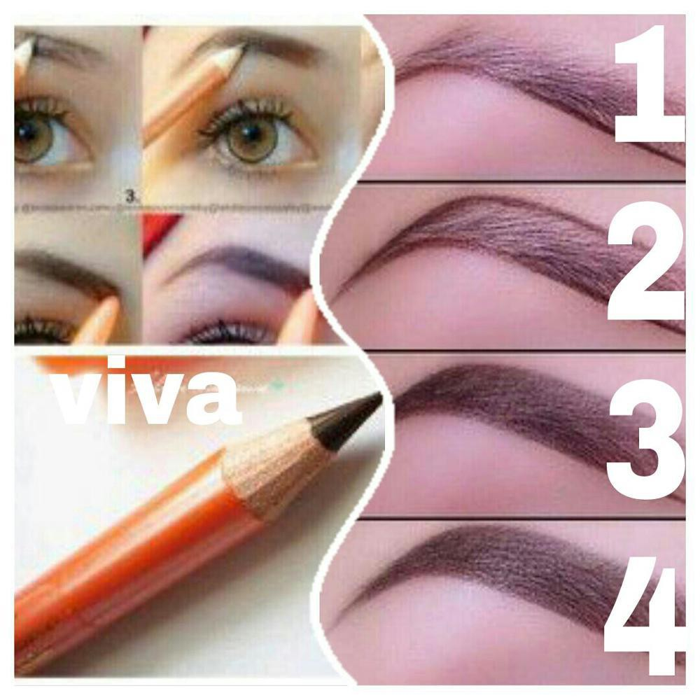 Original Asli Viva Pensil Alis Eye Brow Pencil Original Shopee Indonesia