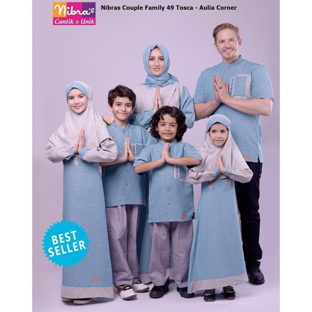 Baju Muslim Terbaru Nibras Nsk 20 Gold Koko Couple 098 Keluarga Shopee Indonesia