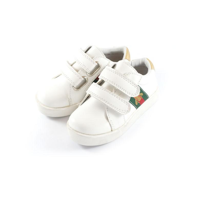 Sepatu Sneaker Anak unisex Tamagoo - Brooklyn Green Stripe