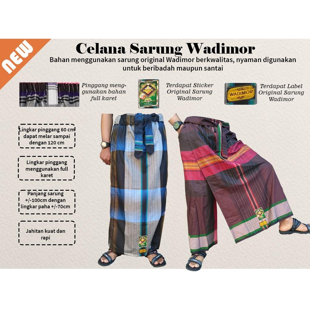 Sarung Wadimor Jaquard Classic Grosir Ecer Murah Shopee Indonesia