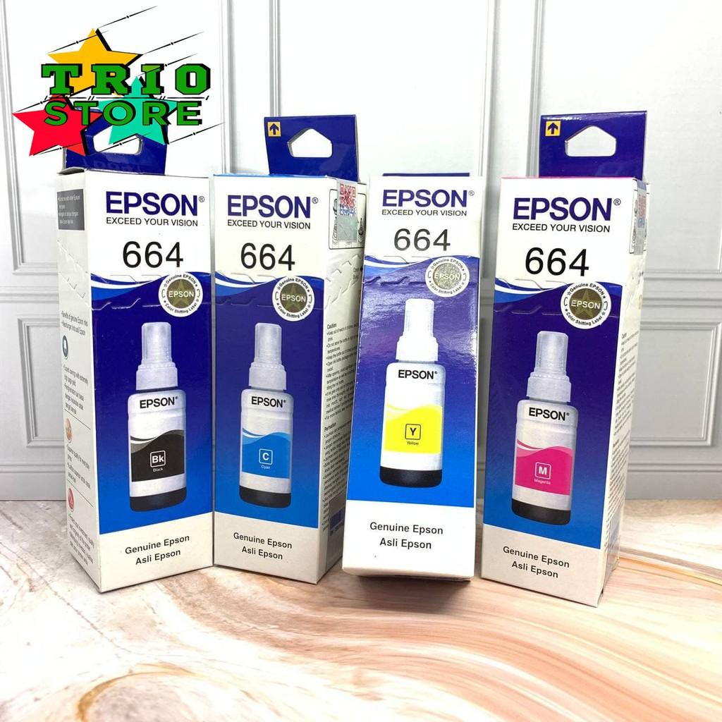 Ulasan Lengkap Tinta Epson 664 For Ink Printer L100/L120/L200/L210/L220/L310/L360 - Belanja Toko Edi Sugiyanto
