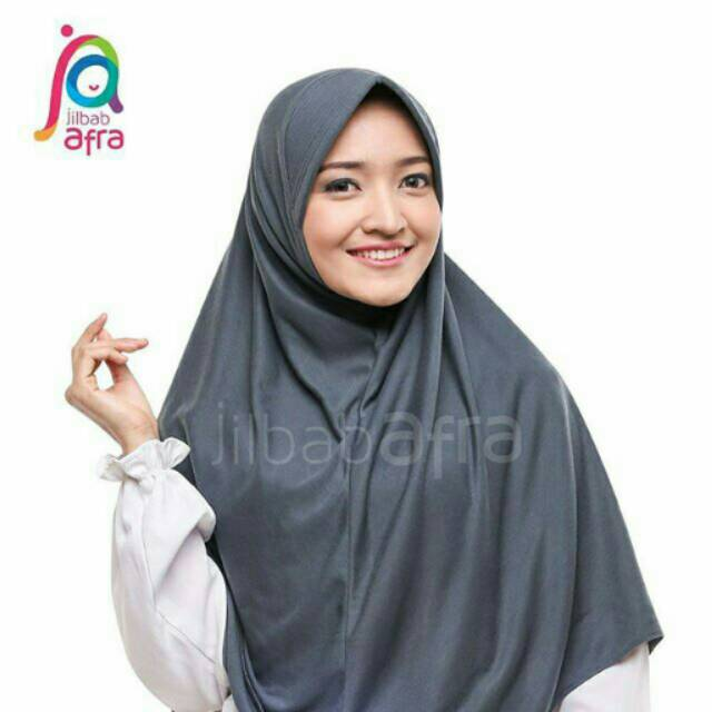 Fashion muslim jilbab instan BERIA Bergo Kaos by Jilbab Afra cocok untuk anak sekolah | Shopee Indonesia